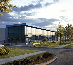 An artist's conception of the Urbacon DC2 data centre being constructed in Richmond Hill, Ont.