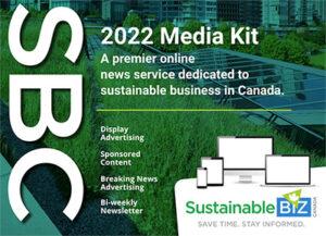 Sustainable Biz Canada, 2022 Media Kit